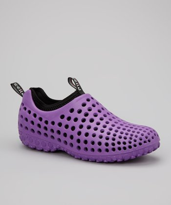 Purple Summer Shoe - Women