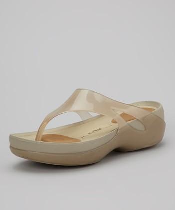 Bronze & Beige Kiera Sandal - Women