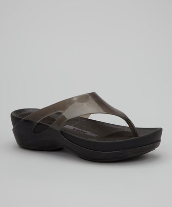 Jet Grey Kiera Sandal - Women