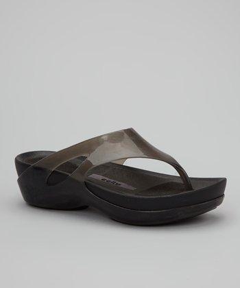 Jet Grey Kiera Sandal - Women