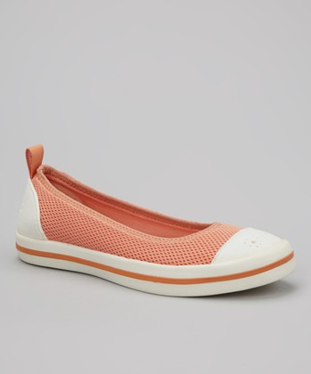 Shrimp & White Milly Slip-On Shoe - Women