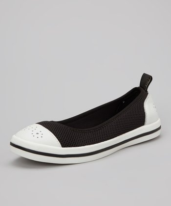 Jet & White Milly Slip-On Shoe - Women