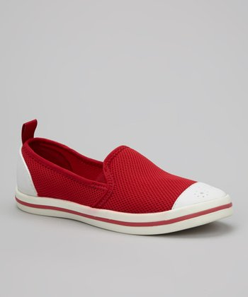 Crimson & White Fitch Slip-On Shoe - Women