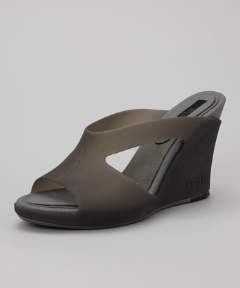 Jet & Gunmetal Harker Sandal - Women