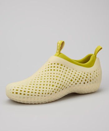 Cream & Limeade Peruvia Shoe - Women