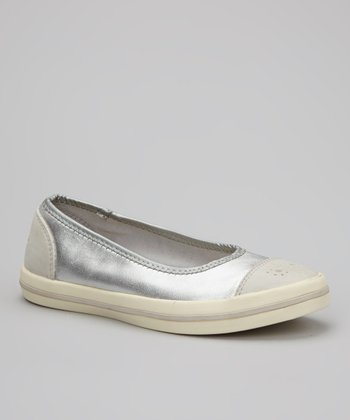 Silver Milly Slip-On Shoe - Women