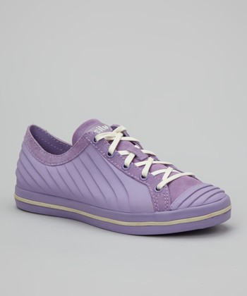 Purple & Cream Ceecee Sneaker - Women