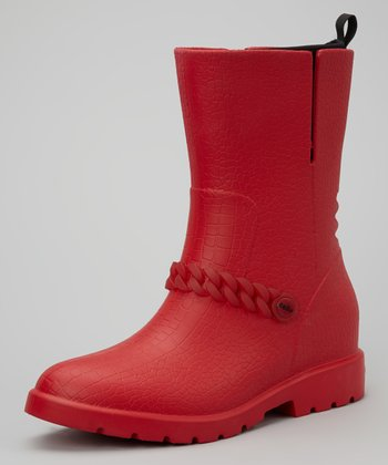 Crimson & Black Becky Boot - Women