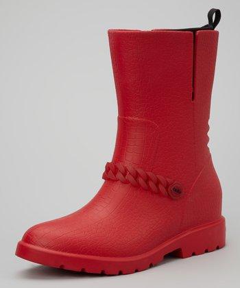Crimson & Black Becky Boot - Women
