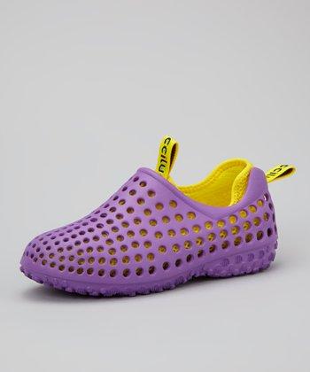 Purple Summer Shoe - Kids