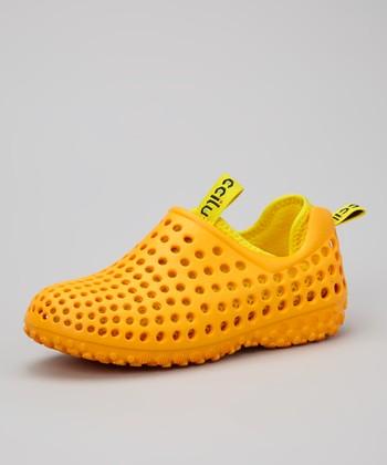 Orange Summer Shoe - Kids