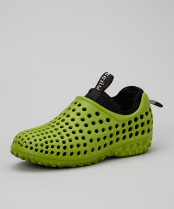 Green Summer Shoe - Kids