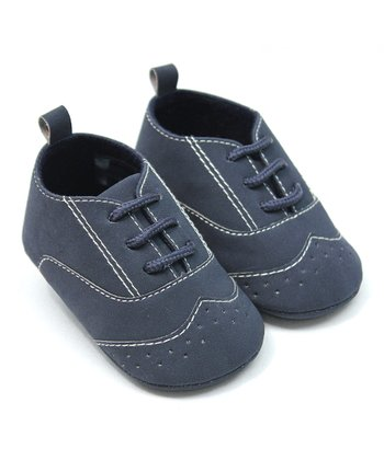Tender Toes Navy Oxford