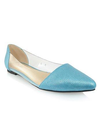 Shoe Republic LA Blue Adsit Flat