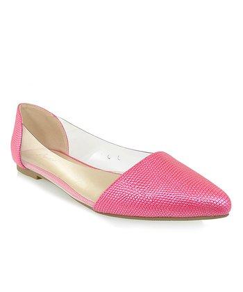 Shoe Republic LA Fuchsia Adsit Flat