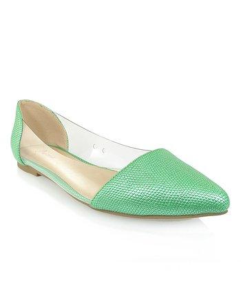 Shoe Republic LA Green Adsit Flat