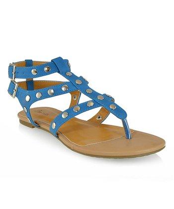 Shoe Republic LA Blue Quintine Sandal
