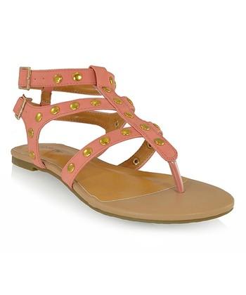 Shoe Republic LA Coral Quintine Sandal