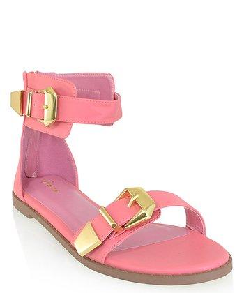 Shoe Republic LA Coral Hosea Ankle-Strap Sandal