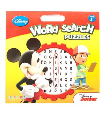 Disney Mickey Word Search Puzzles Paperback