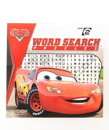 Disney Cars Word Search Puzzles Paperback