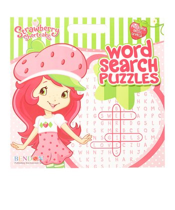 Strawberry Shortcake Word Search Puzzles Paperback