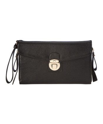 Black Calla Clutch