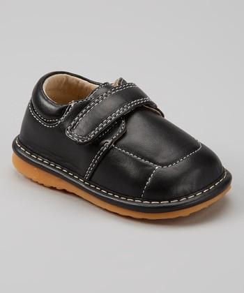Izzy Bug Creations Black Everyday Squeaker Shoe