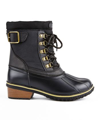 Black Trail Duck Boot - Women