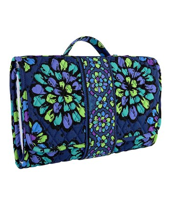 Indigo Pop Changing Pad Clutch