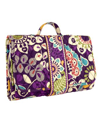 Plum Crazy Changing Pad Clutch