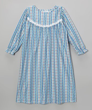 Royal Tyrolean Ruffle Nightgown - Toddler & Girls