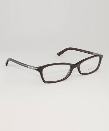 Striped Violet Eyeglasses