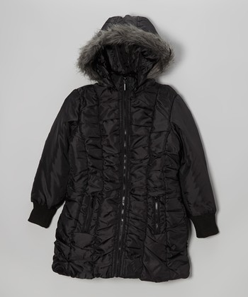 Shiver-Proof: Girls' Coats & Sweaters