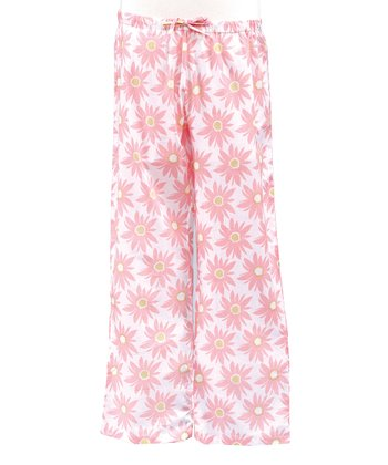 Pink Daisy Lounge Pants