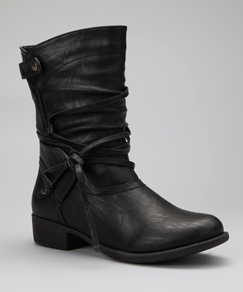 Black Apex Boot