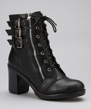 Black Hudson Ankle Boot