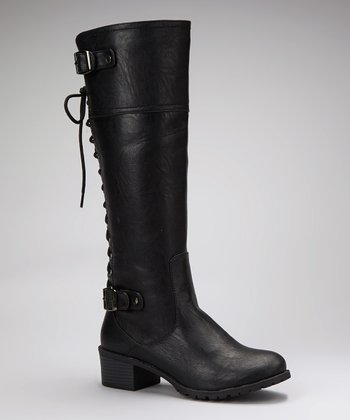 Black Teka Boot