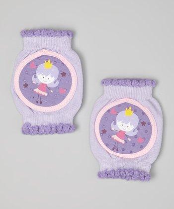 Skidders Purple Princess Gripper Knee Pads