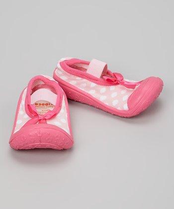 Skidders Pink Polka Dot Mary Jane