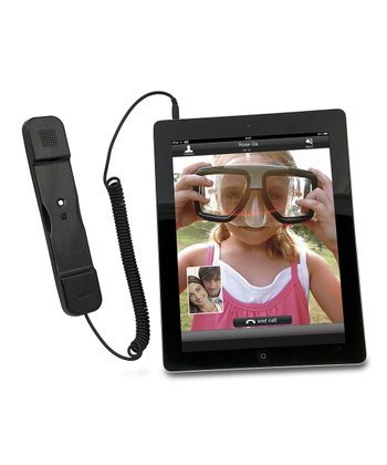 Black iPad & iPhone Telephone Handset