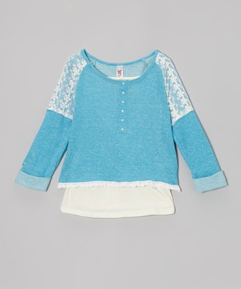 Surf French Terry Lace Top & Tank