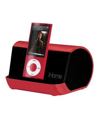 Red Portable Speaker System