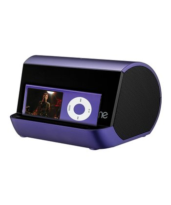 Purple Portable Speaker System