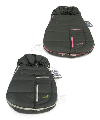 Charcoal Arctic Bundle Me Stroller Jacket Set
