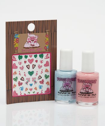 I Heart You Nail Polish Set