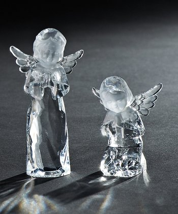 Angel Acrylic Figurine Set
