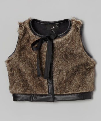 Faux Leather Looks: Kids' Apparel