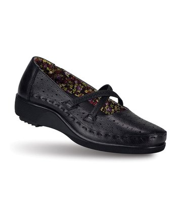 Black Marvita Flat - Women