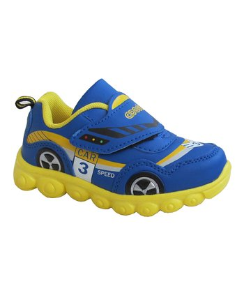 Blue & Yellow Racecar Sneaker